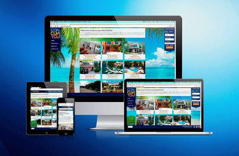 Diseño, Desarrollo y Posicionamiento Web Cancún